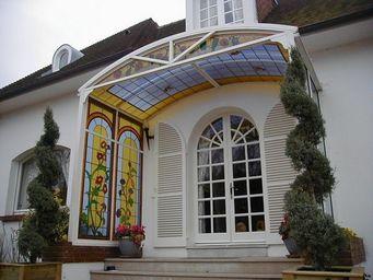 RIVAGES DE VERRE -  - Eingangsvordach