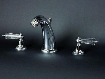 Cristal Et Bronze - elegance cristal - 3 Loch Waschtisch