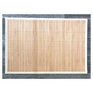 FAYE - set de table en bambou (lot de 6) - couleur - beig - Tischset
