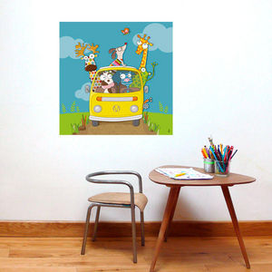 SERIE GOLO - en route ! - Dekorative Gemälde Für Kinder