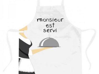 Incidence - tablier - monsieur est servi - Küchenschürze