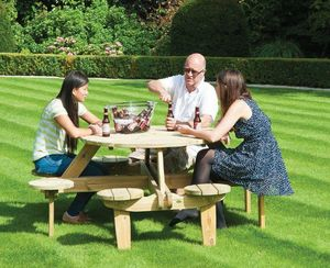 Alexander Rose - pine collection - Picknick Tisch