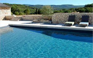 PISCINE PLAGE -  - Traditioneller Swimmingpool
