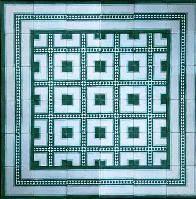 Moorisharts -  - Mosaikwandfliesen