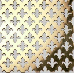 BRASS - g01 005 - Dekorative Drahtzaun