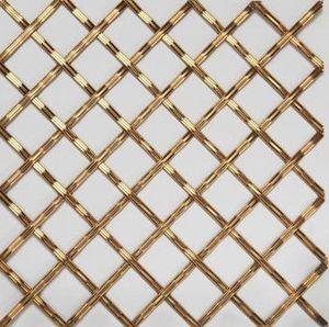 BRASS - g02 003- - Dekorative Drahtzaun