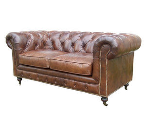 JP2B DECORATION - canapé chesterfield - Chesterfield Sofa