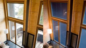 MILLET -  - Fenstertür, Zweiflügelig
