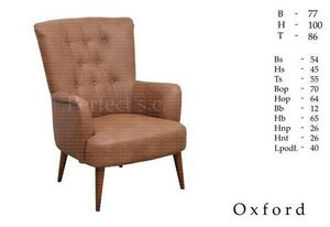 MEBLE PERFECT - oxford - Sessel