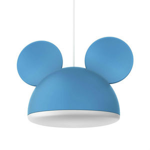 Philips - disney - suspension mickey mouse bleu ø26cm | lumi - Kinder Hängelampe