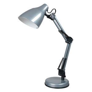 Corep - dexter - lampe de bureau argent | lampe à poser co - Schreibtischlampe