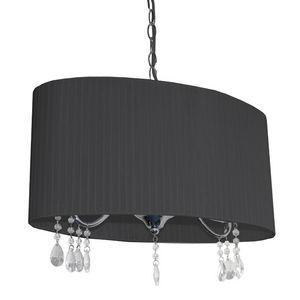 SEYNAVE - barnabe - lustre ovale noir   suspension seynave d - Kronleuchter