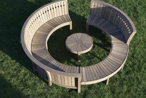 Gaze Burvill -  - Garten Rundbank