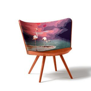 CAPPELLINI - embroidery- - Sessel