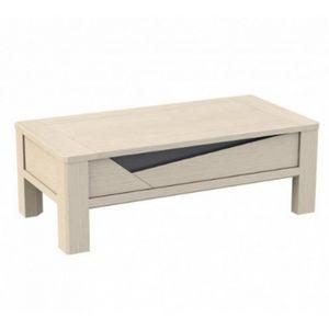 Girardeau - table basse macao - Rechteckiger Couchtisch