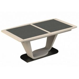 Girardeau - table tonneau céramique macao - Rechteckiger Esstisch