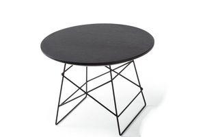 INNOVATION - grid tables basse design taille m par innovation l - Runder Couchtisch