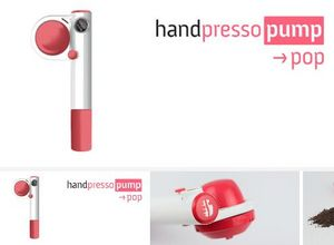 Handpresso - handpresso pump pop rose - Maschine Tragbarer Espresso