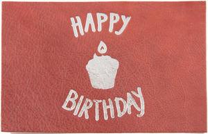 BANDIT MANCHOT - happy birthday w01 - Geburtstagspostkarte