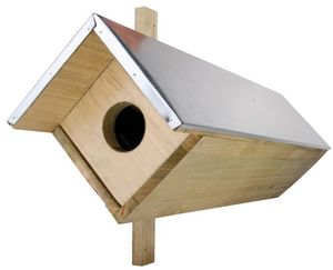 BEST FOR BIRDS - nichoir pour chouette chevêche - Vogelhäuschen