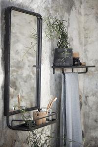 IB Laursen - wall miroir w shelf - Badezimmerspiegel