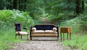 Ateliers Allot Frères -  - Sofa 2 Sitzer