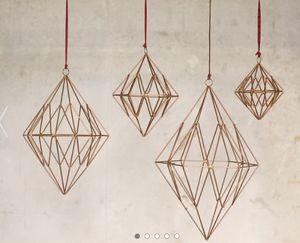NKUKU - talini diamond  - Weihnachtsbaumschmuck