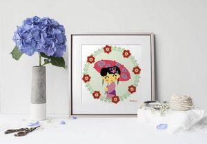 la Magie dans l'Image - print art héros japonaise - Dekobilder