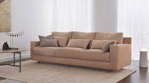 Flou - borgonuovo - Sofa 3 Sitzer