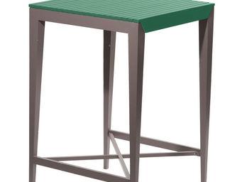 City Green - table haute de jardin portofino - 70 x 70 x 105 cm - Imbisstisch