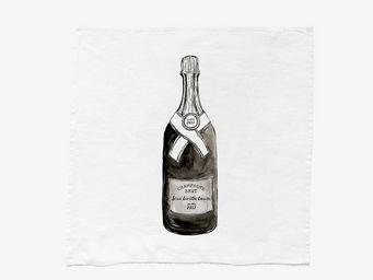 SERIE LIMITE LOUISE - champagne - Tisch Serviette