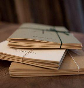 NINN APOULADAKI - lot 3 carnets  - Notizheft