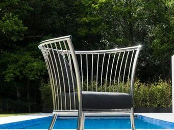 Alexander Rose - cordial lounge inox - Gartensessel
