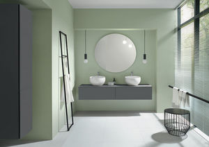 BURGBAD - free - Doppelwaschtisch Möbel