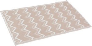 Amadeus - tapis beige déco graphic - Badematte