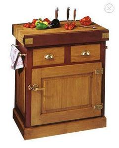 Maison Strosser - billot de brasserie - Küchenblock