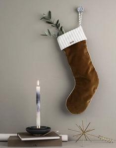 Ferm Living - christmas velvet stocking - Weihnachtssocke