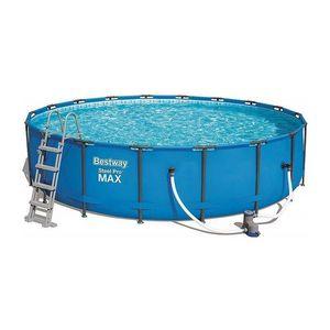 Bestway - piscine hors-sol tubulaire 1421912 - Pool Mit Stahlohrkasten