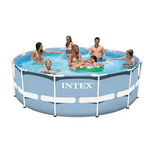 INTEX -  - Pool Mit Stahlohrkasten