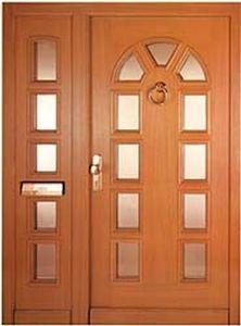 Tendifissi -  - Verglaste Eingangstür