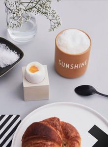 DESIGN LETTERS - sunshine - Kaffeetasse