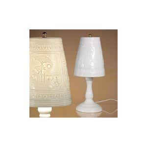 D.Lucchesi Porcellane -  - Lithophanie Tischlampe