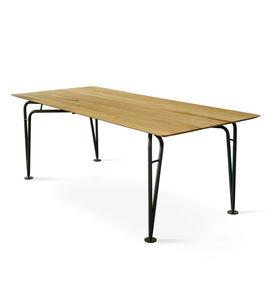 COLE - asymmetrical table naked - Rechteckiger Esstisch