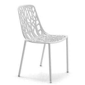 FAST - forest - chaise en aluminium - Gartenstuhl