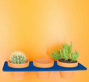NEXEL EDITION - etagère tiny bleu - Garten Blumentopfhalter