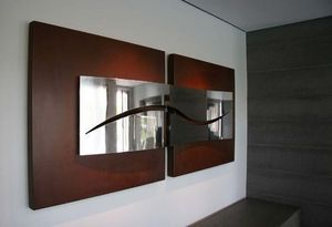 Gonzalo De Salas - relieve abstracto - Skulptur