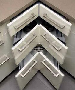 Darty - tiroir d'angle - Küchenschublade