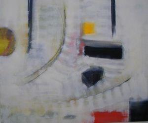 www.maconochie-art.com - resonant objects - Ölgemelde Auf Leinwand Und Holztafel