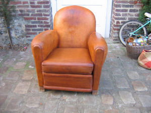 Fauteuil Club.com - fauteuil club rond - Clubsessel