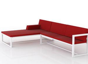 swanky design - cruz modular chaise - Gartensofa